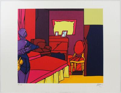 Valerio Adami, 'The Room', 1996