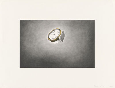 Ed Ruscha, 'Domestic Tranquility: Clock', 1974