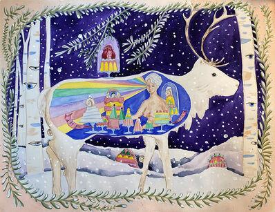Dana Sherwood, 'Inside the Belly of a Reindeer', 2021