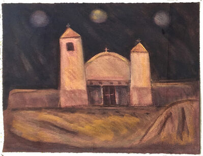 Lawrence Calcagno, 'Taos Church', 1979