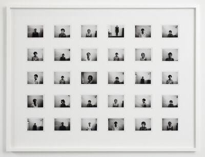 Mickalene Thomas, 'Black and White Polaroid Series #5', 2012
