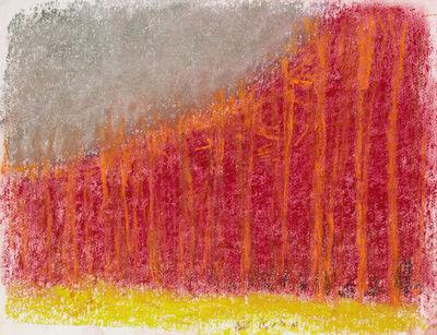 Wolf Kahn, 'FOLLOWING THE RIDGE LINE', 2016