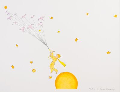Antoine de Saint-Exupéry, 'The Little Prince Flying Away', 2009