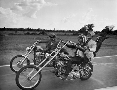 Globe Photo Archives, 'Easy Rider Bike Scene', 1969
