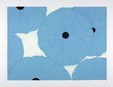 Donald Sultan, 'Six Blues', 2006