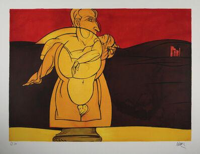 Valerio Adami, 'Paysage de ruines', 1981