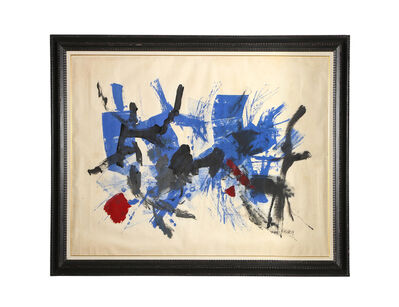 John Von Wicht, 'Blue', 1959