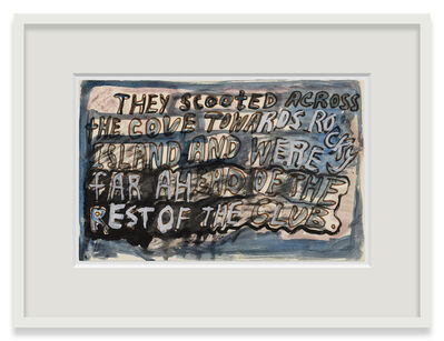 Robert Smithson, 'They Scooted Across', 1961-1963