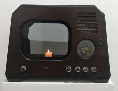 Nam June Paik, 'TV Candle', 1996