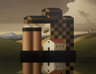 Renny Tait, 'Chequered Factory', 2010