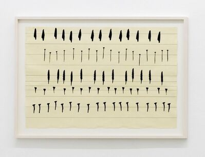 Carola Dertnig, 'Singing Nails III', 2019