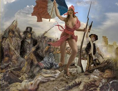 Guy Le Baube, 'Hommage àDelacroix Liberté', 2011