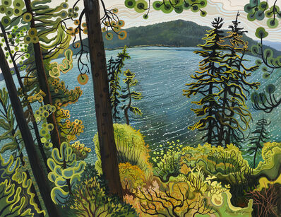 Phyllis Shafer, 'Magical Moment at Fallen Leaf Lake'