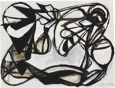 David Smith (1906-1965), 'DS 3/4/52', 1952