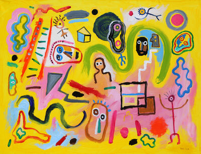 Luis Rodriguez Noa, 'Cabezas Flotantes (Floating Heads)', 2019