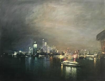 Benjamin Warner, 'Night, Hong Kong Harbour', 2018