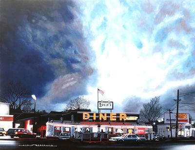 Alain Bertrand, 'Rosie's diner', 2017