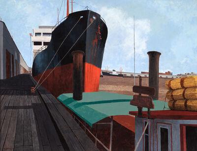 Rolland Golden, 'Port of New Orleans', ca. 1959