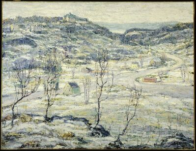 Ernest Lawson, 'Harlem Valley, Winter', ca. 1921