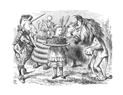 Sir John Tenniel, 'Are you animal - or vegetable - or mineral?'', 1988