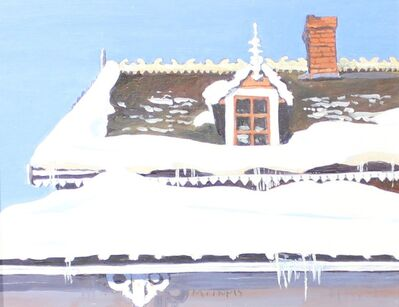 RFM McInnis, 'Snow on the Roof', 1997