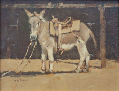 Irby Graves Brown, 'Ready to Ride'