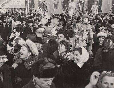 Dmitri Baltermants, 'Red Square, Anniversary of the Revolution', 1970-printed later