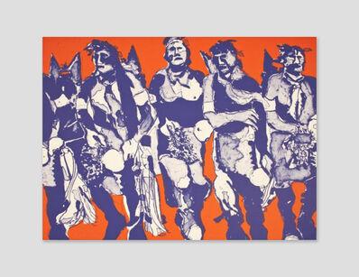 Fritz Scholder, 'Hopi Dancers (State I)', 1974