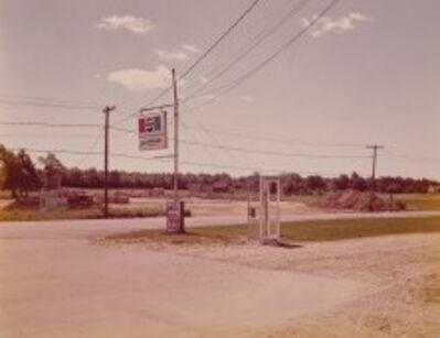 Stephen Shore, 'Wilde St & Colonization Ave, Dryden Ontario', 1974