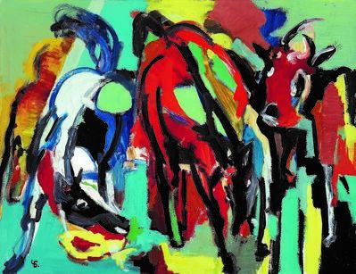 Boris Chetkov, 'Corrida', 1990