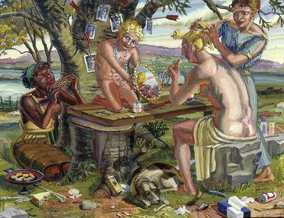 M. Louise Stanley, 'Toilet of Venus', 1989