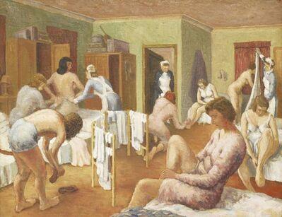 Frank Simcock, 'NURSES DRESSING'