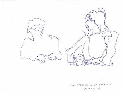 Natalia Laluq, 'Conversation at SMA 2', 2016