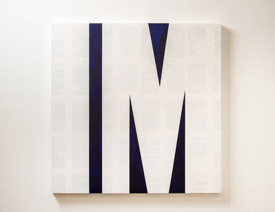 Tim Rollins and K.O.S., 'Invisible Man (after Ralph Ellison)', 2014