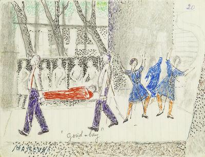 Marie Vorobieff Marevna, ''Dine, 1973''