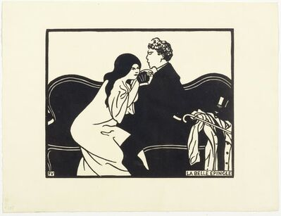 Félix Vallotton, 'La belle épingle', 1897
