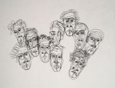 joseph janson, '10 Heads', 2019