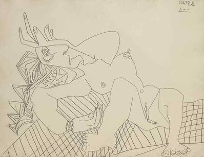 Pablo Picasso, 'Nu Couché', 1972