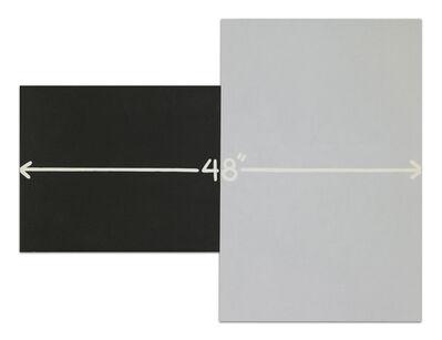 Mel Bochner, '48 inches', 2007