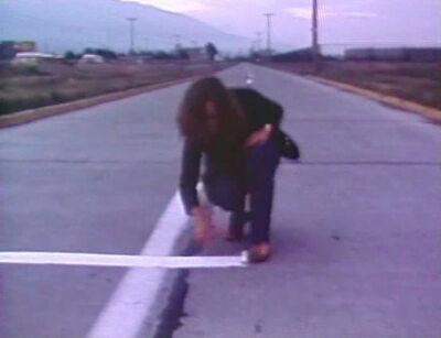 Lotty Rosenfeld, 'Una Milla de Cruces Sobre el Pavimento', 1979
