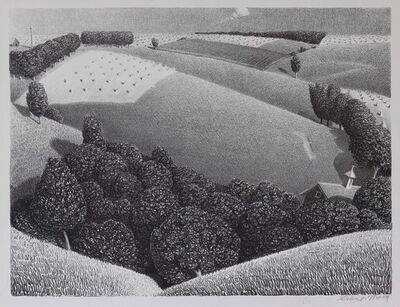 Grant Wood, 'July Fifteenth', 1938