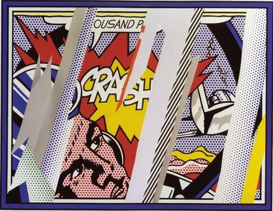Roy Lichtenstein, ' Reflections Series: Reflections on Crash', 1990