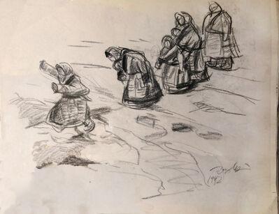 Pei Zhuangxin, 'Sketch ⼿稿', 1992