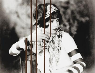 Gregor Hildebrandt, 'Clara Bow als Parze', 2011