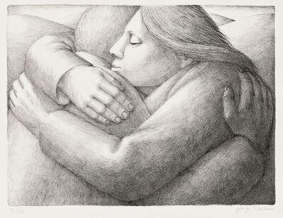 George Tooker, 'Embrace II', 1984