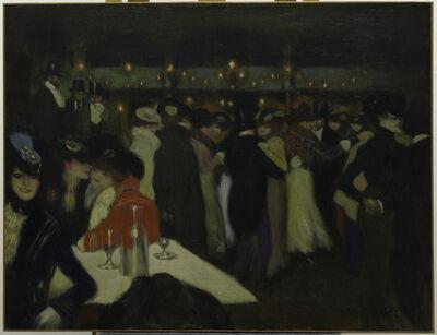 Pablo Picasso, 'Le Moulin de la Galette', 1900
