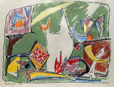 Marcel Janco, 'Paradis Perdu', 1968