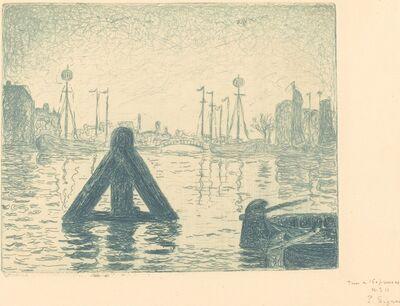 Paul Signac, 'Harbor in Holland - Flushing (La balise - En Holland, Flessingue)', ca. 1894