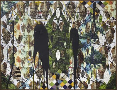 Rashid Johnson, 'Untitled Escape Collage', 2018