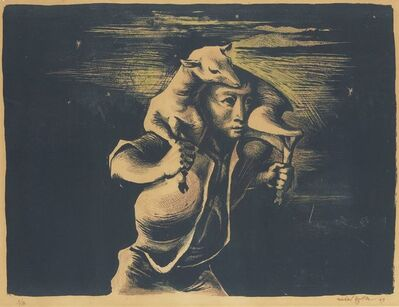 Michael Ayrton, 'The Shepherd at Night', 1949